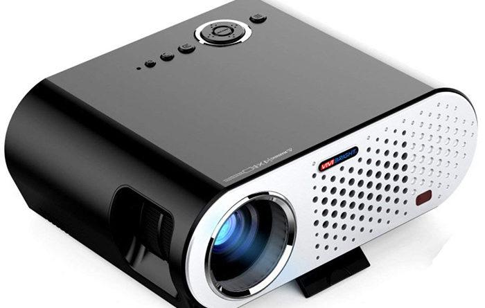 Mini Projecteur BHUE GP90 Maison Projecteur HD 1080P